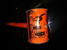 Vintage 1940's Tin Halloween Noise Maker Rattler Horn Handle~ T. Cohn USA ~ Cat