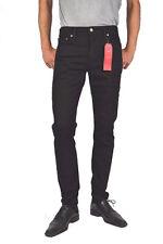 Levi's Men's 512 Slim Tapered Fit Nightshine Jeans Black 32w X 32l