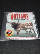 OUTLAWS SUPER HITS • Johnny Cash Willie Nelson Merle Haggard Waylon Jennings