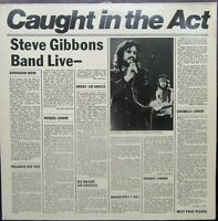STEVE GIBBONS BAND CAUGHT IN THE ACT LP Polydor 2478 112 1977