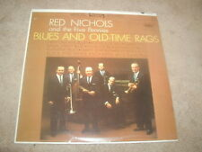 Red Nichols & The Five Pennies Blues & Old Time Rags Capitol STEREO LP 1963