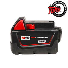 Genuine Original Milwaukee M18BX 18V M18 Red Lithium-Ion Battery 3.0Ah AUS STOCK