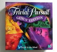 Trivial Pursuit Genus Edition Board Game Parker Horn Abbot Hasbro 2001