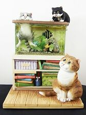 Comic & Curious Cats A6044 Truly Tropical Border Fine Arts LE Light Up Fish Tank