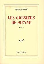 MAURICE RHEIMS Les greniers de Sienne + PARIS POSTER GUIDE