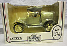 ERTL 1918 Runabout Barrell Bank (Agway) 1/25 Scale Die Cast