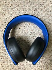 Sony Gold Wireless Headset Playstation 4 HEADPHONES ONLY