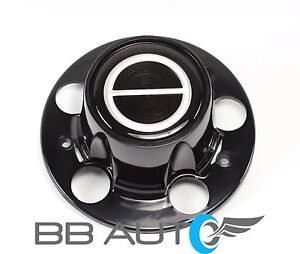 FORD RANGER BRONCO II EXPLORER BLACK CENTER CAP HUB BLACK EMBLEM CENTER NEW