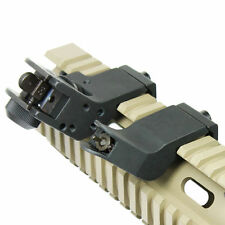 45 Grad Offset RTS Sight Backup Iron Sehenswertes für Rapid Transition Rail