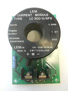 LEM CURRENT MODULE LC 500-S SP6 1:3000