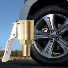 Car Air Pump Nozzle Adapter Truck Tire Inflator Valve 8MM Connector Head Clip