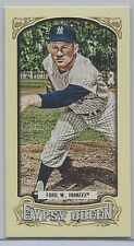 2014 Topps Gypsy Queen Mini #266 Whitey Ford Photo Variation NM/MT (Yankees) !