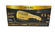 Andis Ceramic Ionic Styler Hair Dryer Gold 1875W * BRAND NEW * Open Box