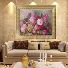 DIY 5D Paniers Floral Diamant broderie peinture Kit point de croix Home Decor