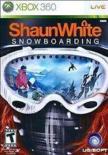 SHAUN WHITE SNOWBOARDING Microsoft XBox 360 Game