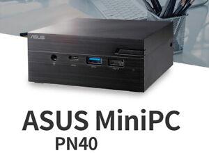 ASUS Mini PC PN40 SSD (4GB, SSD 120GB) J4005 2.0GHz UHD600 HDMI mini DP Vesa UPS