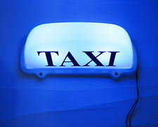 New LED Taxi Cab Top Sign Light Lamp Roof Magnetic Blue
