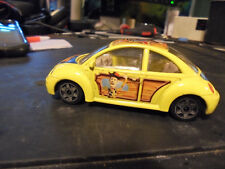 BURAGO,  1:43  VW  new  beetle , toy story ,  DISNEY,  >  WOODY  >   nice  shape