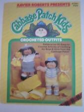 PLAID CABBAGE PATCH KIDS CROCHETED OUTFITS PATTERN BOOK  #7867 - XAVIER ROBERTS