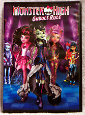 Monster High: Ghouls Rule (DVD, 2012) Plus 3 Never-Before-Seen Animated Shorts
