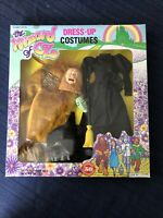 WIZARD OF OZ 1988 Dress Up Costumes BARBIE DOLL OUTFITS Lion Wicked Witch VTG