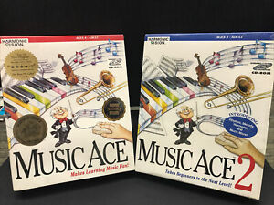 HARMONIC VISION MUSIC ACE & MUSIC ACE 2, MAC/WIN AGES 8 TO ADULT