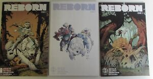REBORN 3 5 5 Three NM- IMAGE Comics  Comic books lot