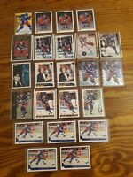 BRIAN LEETCH HOCKEY CARD LOT - 23 CARDS MISC BRANDS