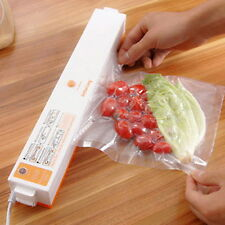 Vacuum Food Sealer Machine Food Storage Free Bag Rolls Heat Strip Kitchen Tool