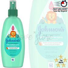 JOHNSON'S No More Tangles Kids Conditioner Spray 200ml *BRAND NEW*