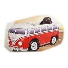 VW T1 Bus Elektrofahrzeug Rot mit Fernbedienung Kinderfahrzeug Rollplay 12V