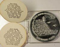 San Juan National Historic Site Commemorative Uncirculated Souvenir Medal COA