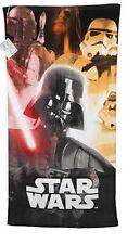 Star Wars Velours Plage Serviette De Bain Natation Vacances Serviette pour adultes et enfants