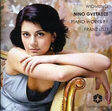 Nino Gvetadze - Piano Works By Franz Liszt [New CD]