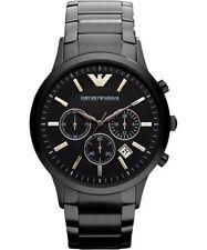EMPORIO ARMANI Classic Chronograph Black Dial Men's Watch AR2453