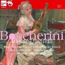 Boccherini: Guitar Quintets, New Music
