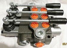 Valve Hydraulique de Commande Manuelle 3-fach 50L / pour Cylindres A Double