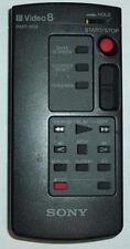 SONY CAMCORDER REMOTE CONTROL RMT-502 VIDEO 8 CCD-F56 CCD-F402 CCD-F401 CCD-F77