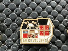 PINS PIN BADGE SAPEUR POMPIER FIRE ABBEVILLERS