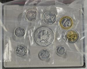 UK 2006 UNITED KINGDOM 9 COIN SILVER PROOF EURO PROTOTYPE PATTERN SET boxed/coa