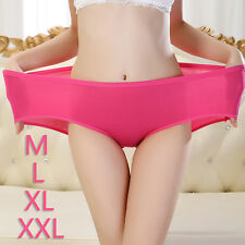 Women's Briefs Cotton Bamboo Underwear Large Size Comfortable Panties Undepants