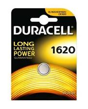 2x Duracell 1620 3V Lithium Coin Cell Batteries CR1620/DL1620 Battery