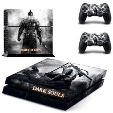 Dark Souls Skin Sticker for PS4 System Playstation 4 Console +2 Controllers