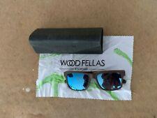 Woodfellas Zebrano Sunglasses Wood Fellas Sun Glasses