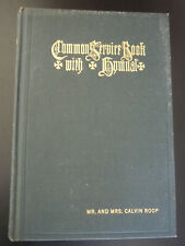 1918 Common Service Book Of The Lutheran Church With Hymnal HC Book 631 Pages