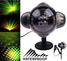 Proyector laser discoteca holográfico luz led iluminación Exteriores Fiesta DJ