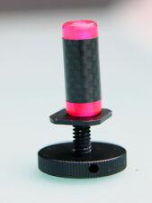 Design fatz Custom Carp Bobbins heads hanger  swinger  indicators  Carbon Red