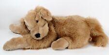 "Folkmanis Large 30"" Golden Retriever Dog Plush Stuffed Animal Hand Puppet EUC"
