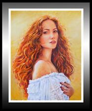 'Jolene', Beautiful Oil Painting: A Fantastic Gift Idea!