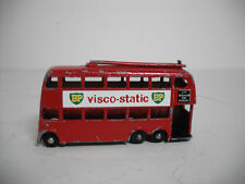Matchbox #56A LONDON TROLLEY BUS ORIGINAL Paint  newRARE VISCO-STATIC DECALS BPW